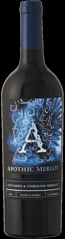 Apothic Merlot bottle
