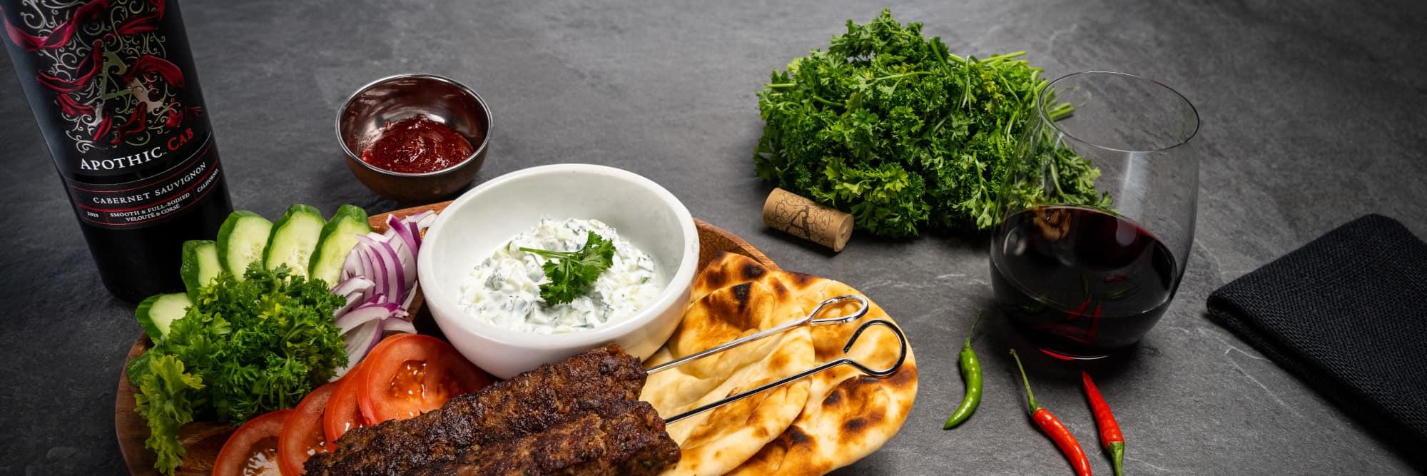 Kababs presentation