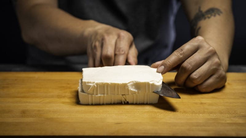Mapo tofu preparation 01